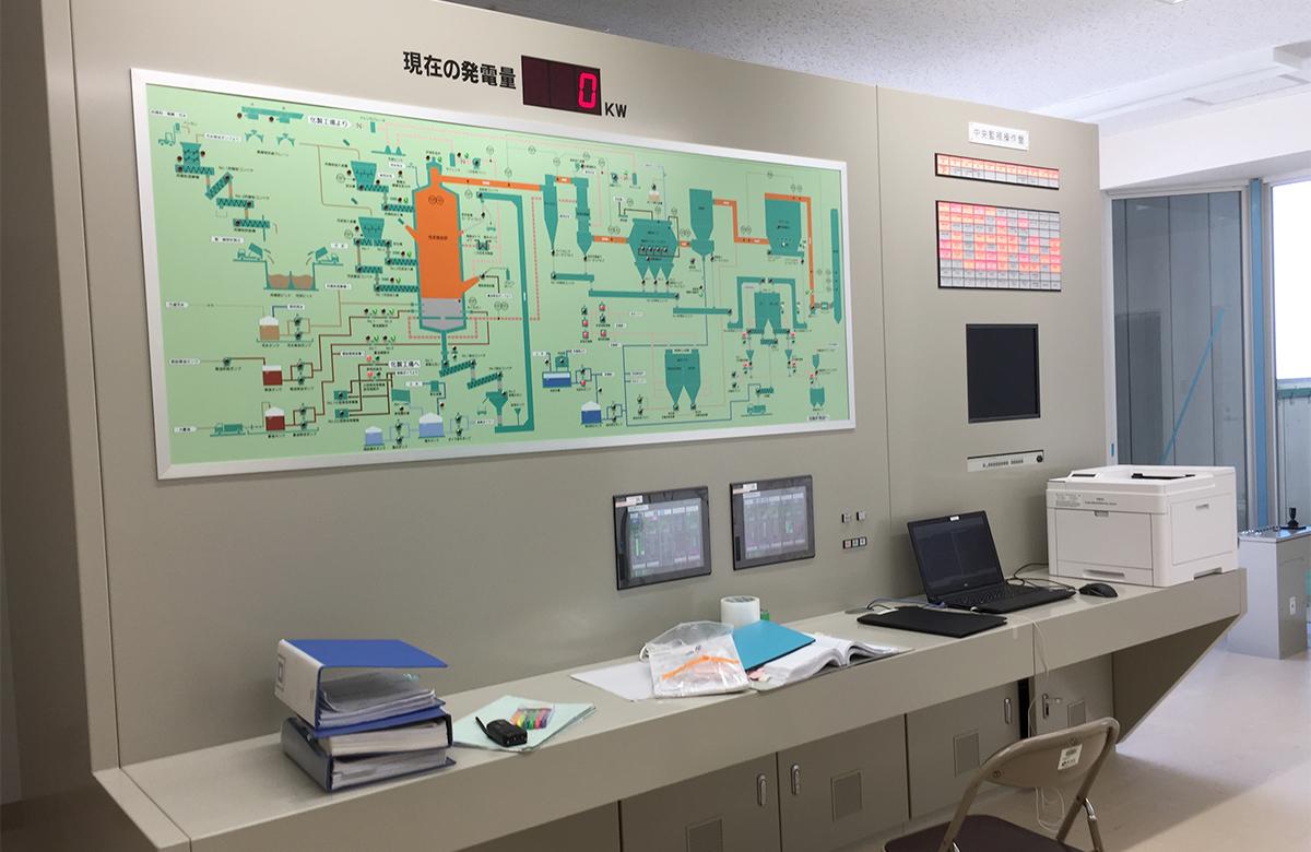 中央制御室.